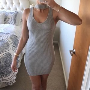 LF Bodycon Choker Dress